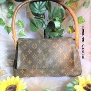 Authentic Louis Vuitton Monogram Mini Looping